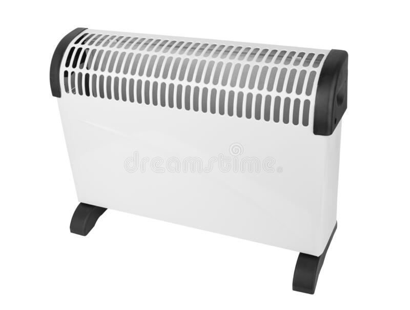 Electric convector isolated royalty free stock photo