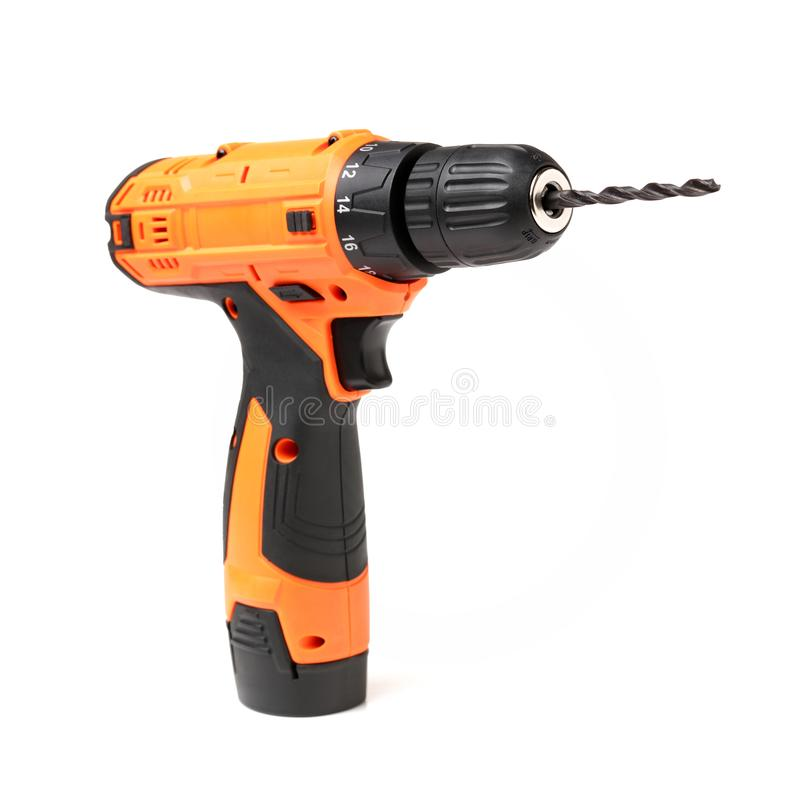 Electric drill stock photography