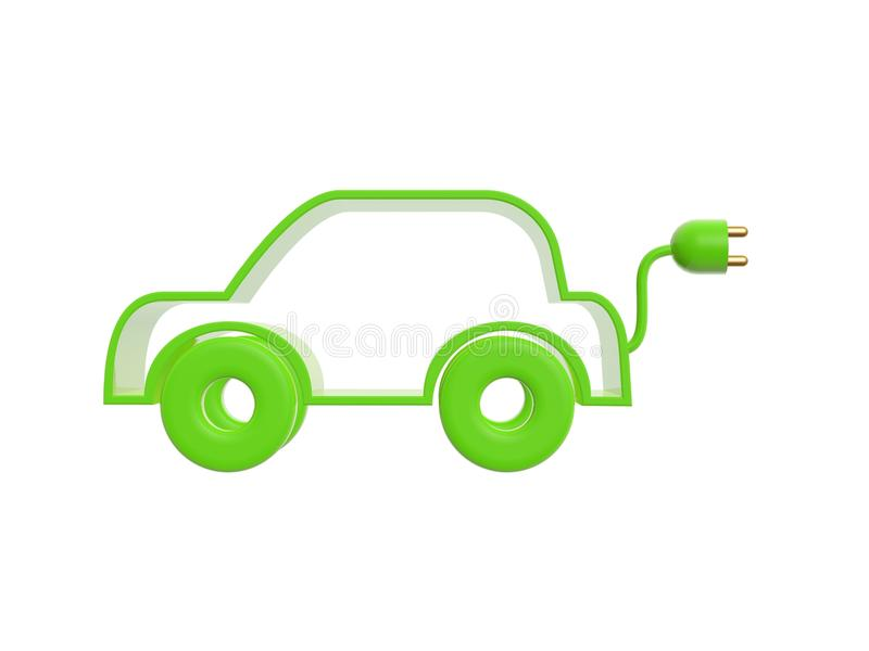 Download Electric drive car stock illustration. Image of object - 36899073