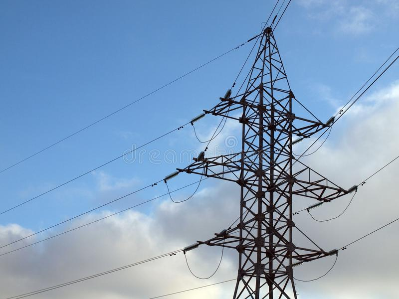 Electric Energy Transfer Royalty Free Stock Photo