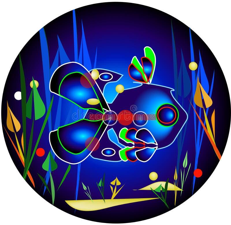 Electric fish stock illustration