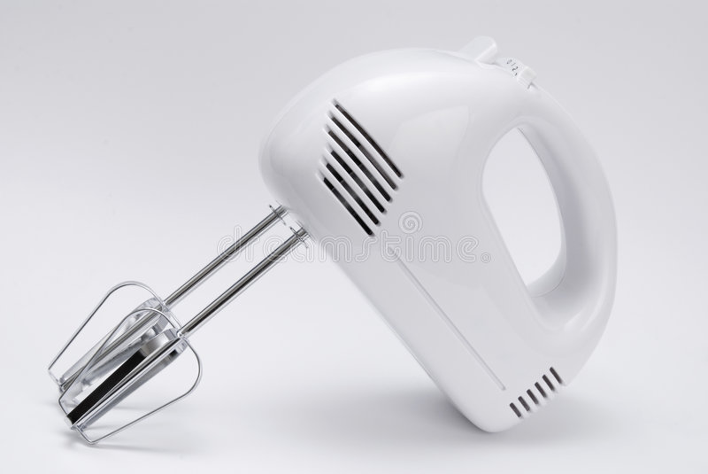 Electric food mixer stock image