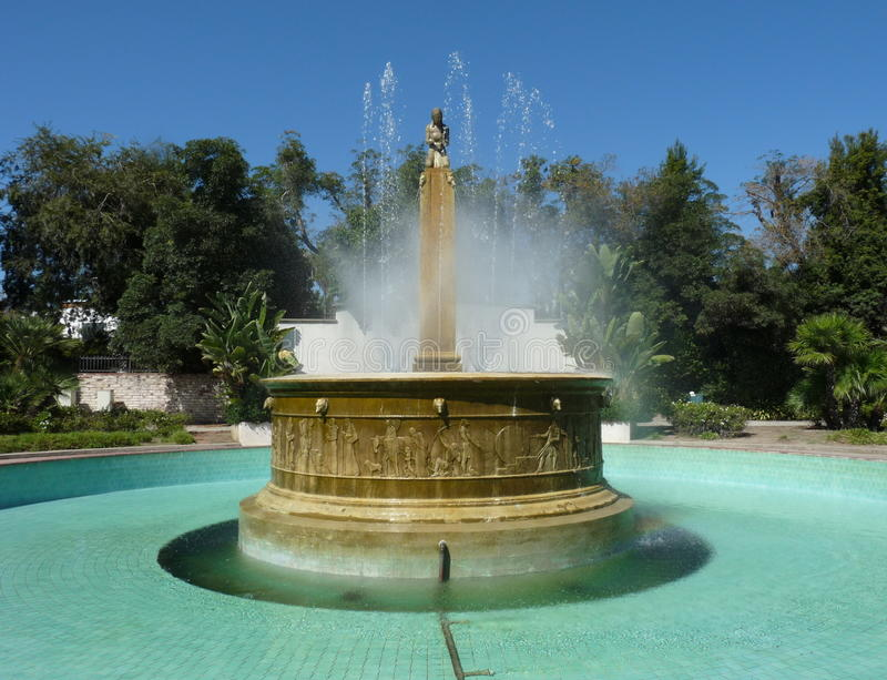 Download Electric Fountain, Beverly Hills Stock Image - Image of fountain, clear: 23354461