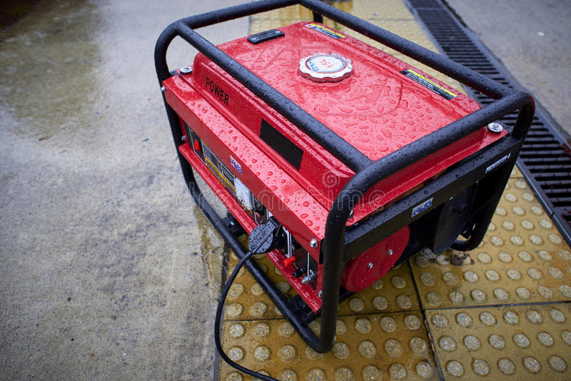 Electric generator stock images