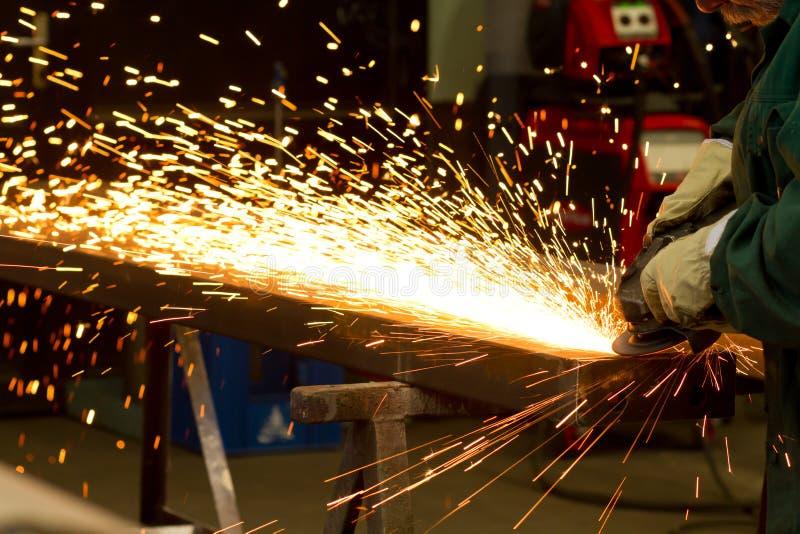 Electric grinder stock image