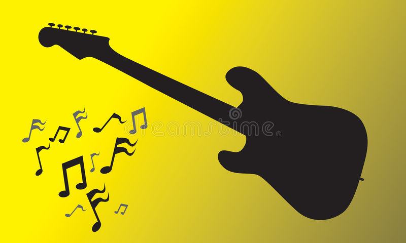 Electric Guitar royalty free illustration