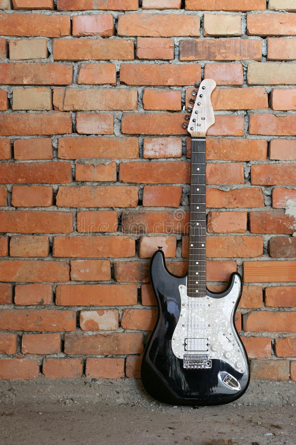 Electric guitar stock photos