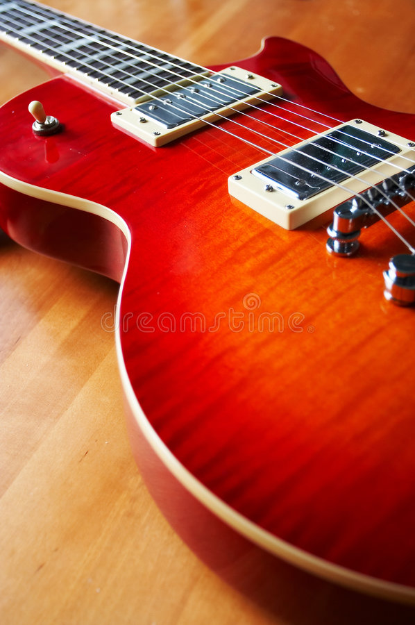 Free Electric Guitar Stock Photography - 1397632