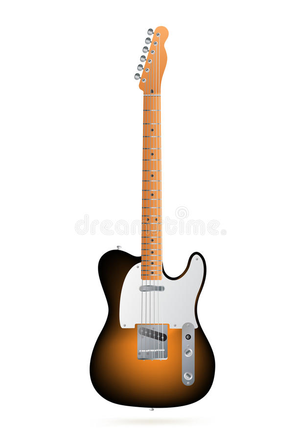 Download Electric guitar stock vector. Image of rock, isolated - 14081387