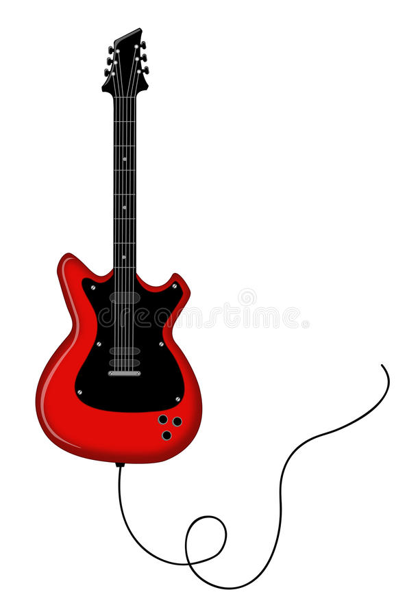 Download Electric guitar stock vector. Illustration of guitar - 17353881