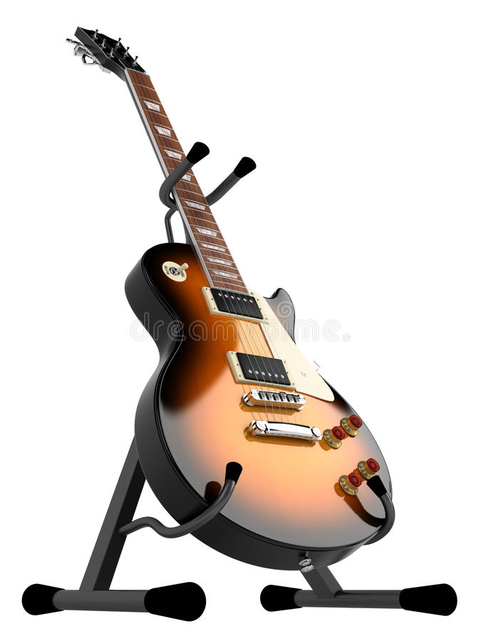 Free Electric Guitar Royalty Free Stock Photography - 19448377