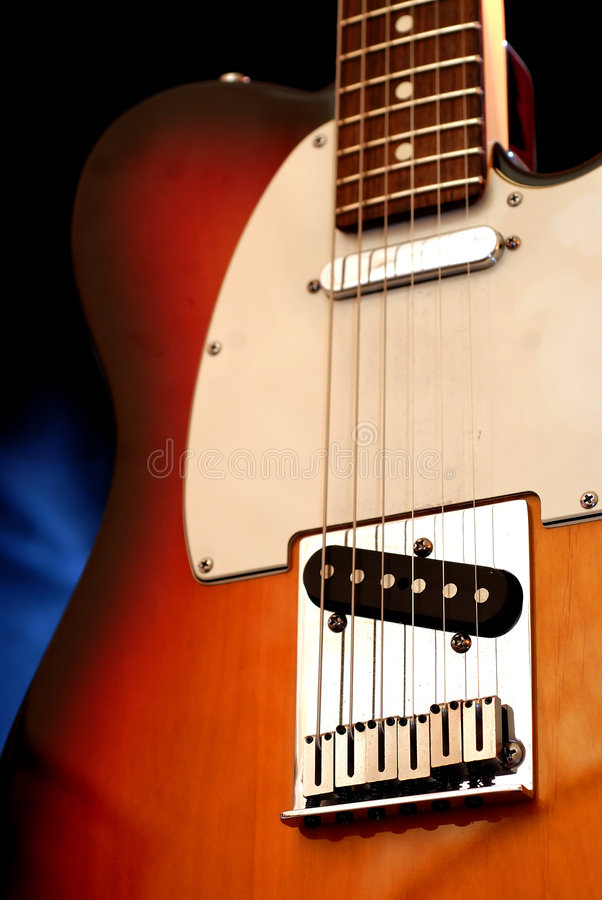 Electric guitar 3 royalty free stock photos