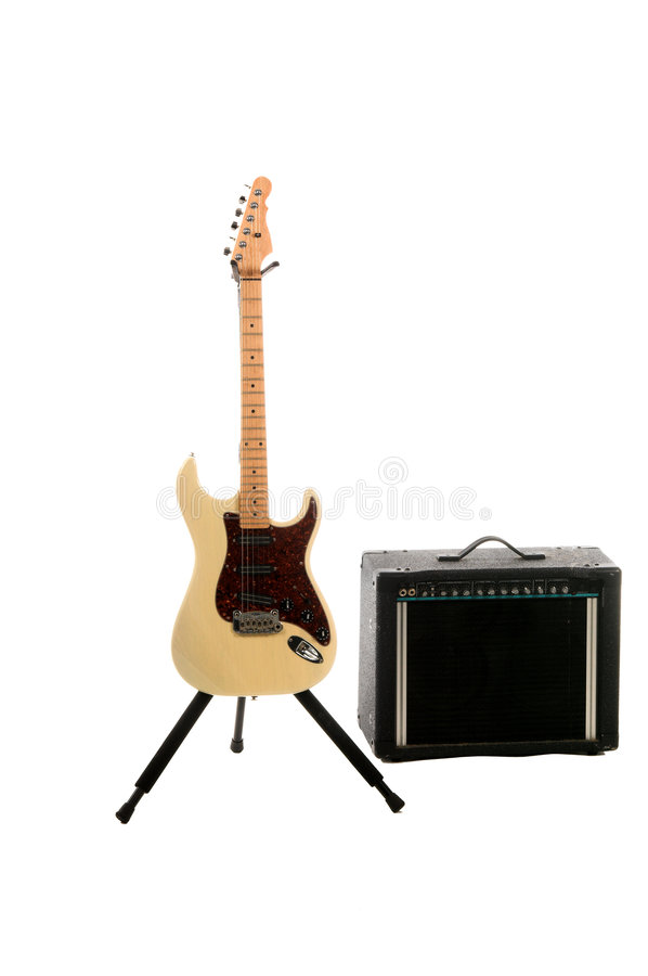 Electric Guitar Amp royalty free stock photography