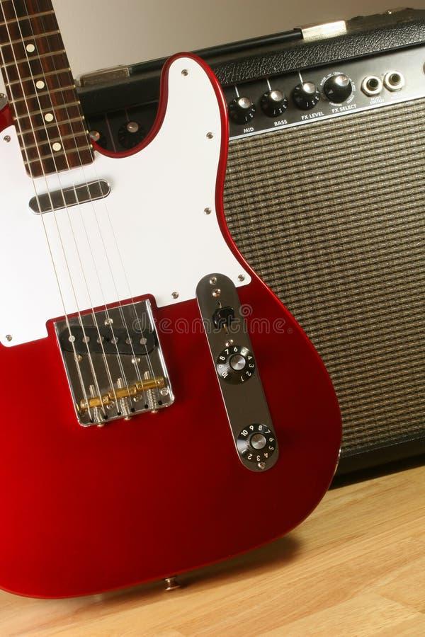 Free Electric Guitar And Amp 2 Stock Photos - 700583