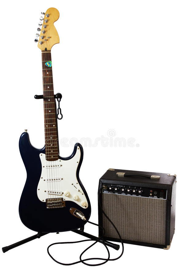 Free Electric Guitar And Amp Stock Photo - 24511740