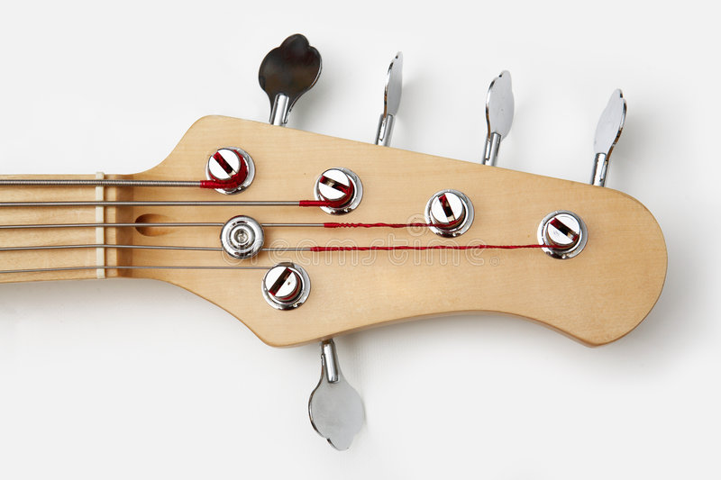 Electric guitar headstock stock photos