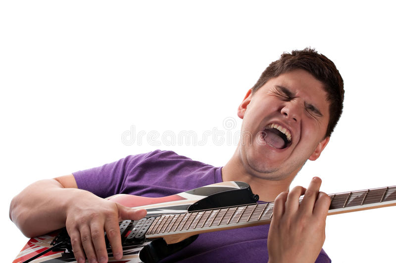 Download Electric Guitar Player stock image. Image of performing - 16763809