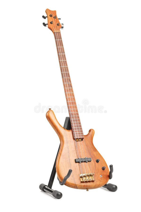 Download Electric guitar on a stand stock image. Image of stand - 23544267