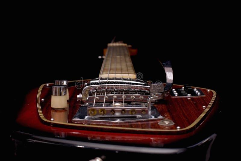 electric guitar vintage στοκ εικόνα