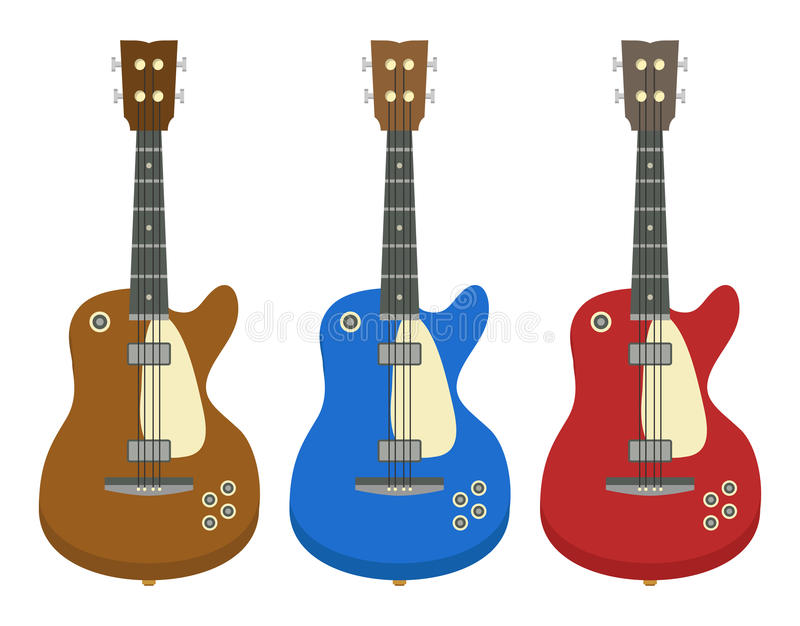 Download Electric guitars stock vector. Image of object, modern - 27270902