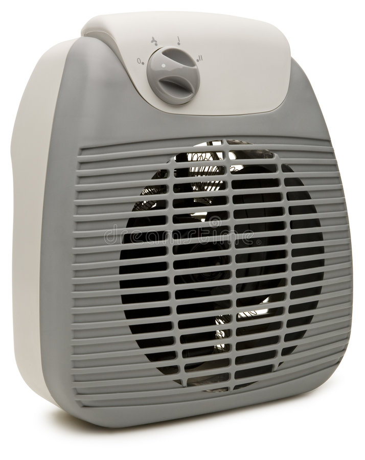 Electric Heater Stock Image
