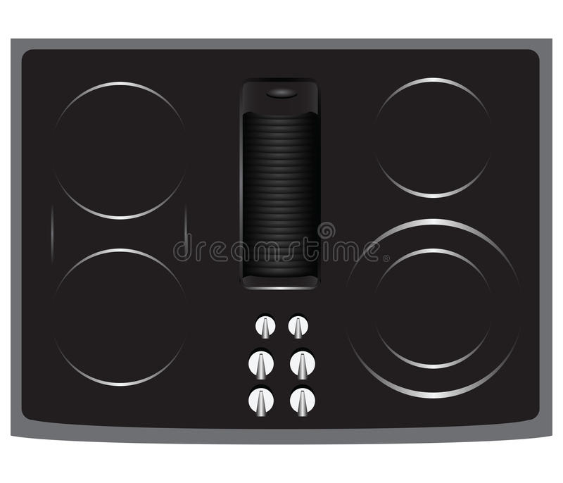 Download Electric Cooktop stock vector. Illustration of energy - 29932500
