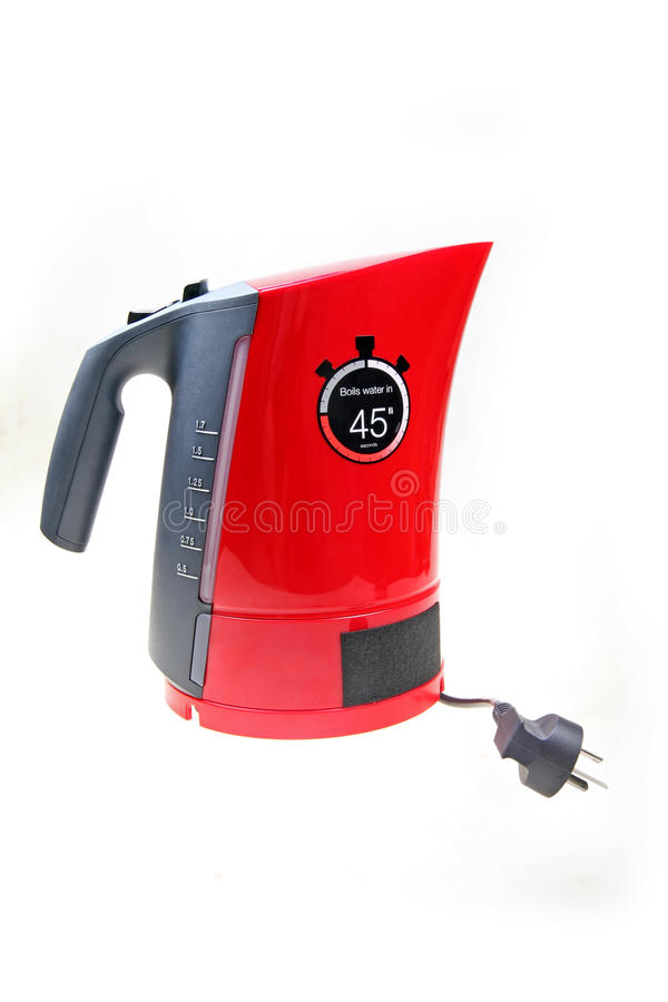 Electric kettle royalty free stock photo