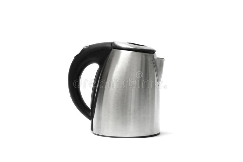 Electric kettle Isolated on white background. Components of the graphic design royalty free stock photos