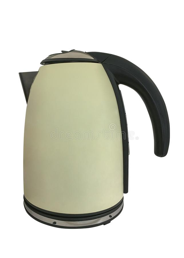 Electric kettle isolated on white background. Image of electric kettle isolated on white background stock photos