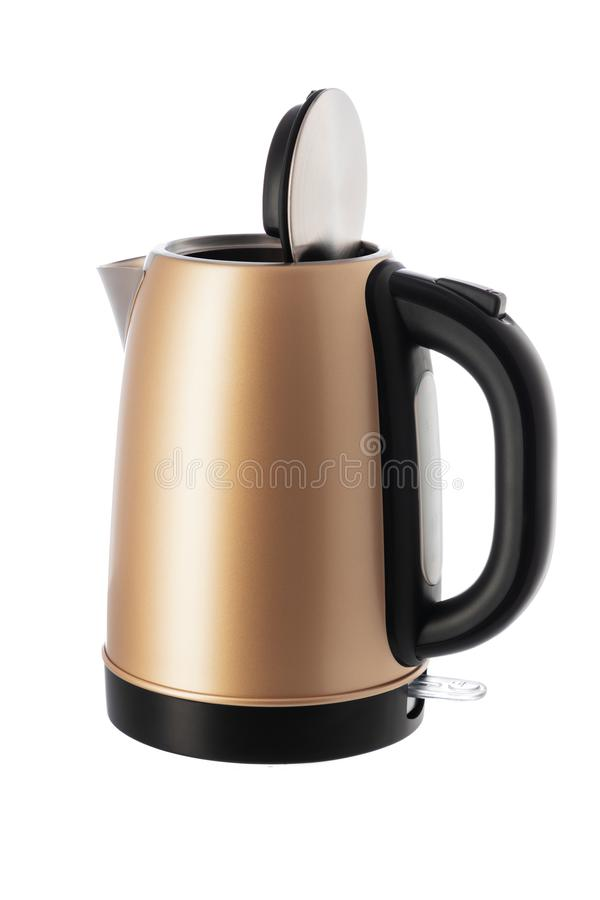 Electric kettle jug isolated on white background.  stock images