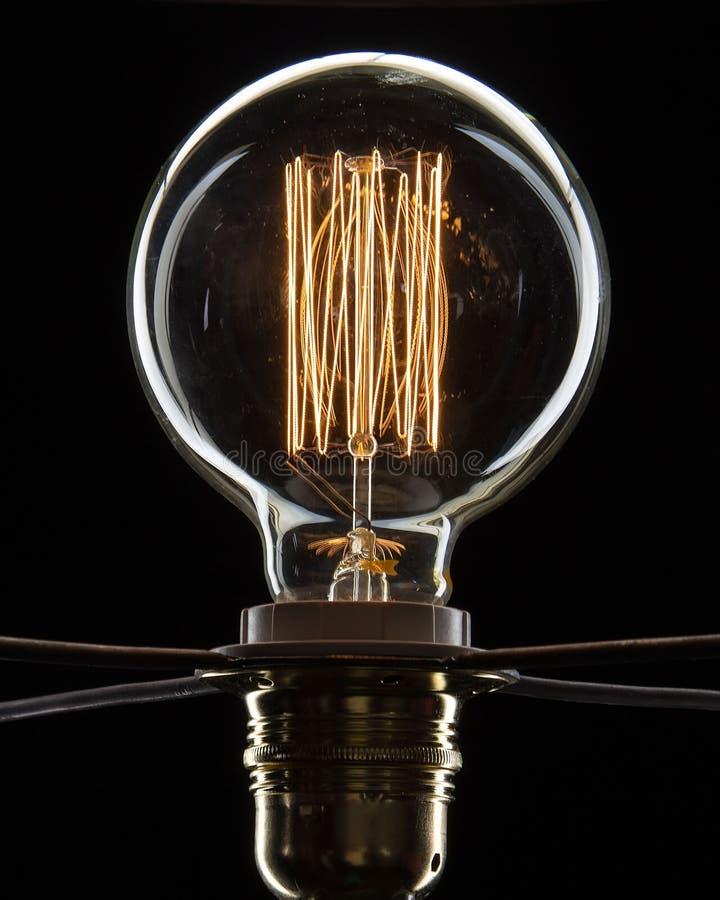 Electric lamp stylish stock photography