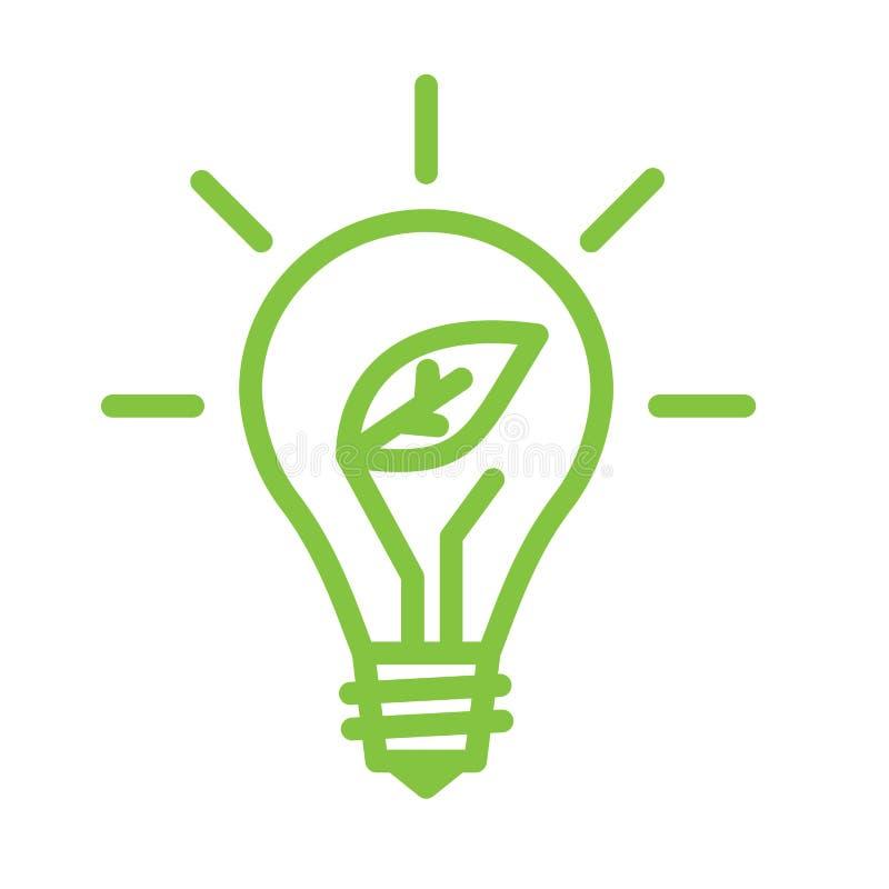 Light Bulb Lamp stock vector. Illustration of green - 114330260