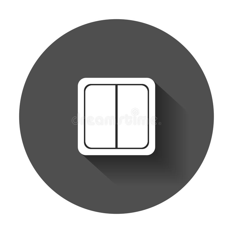 Download Electric Light Switch Icon Stock Vector