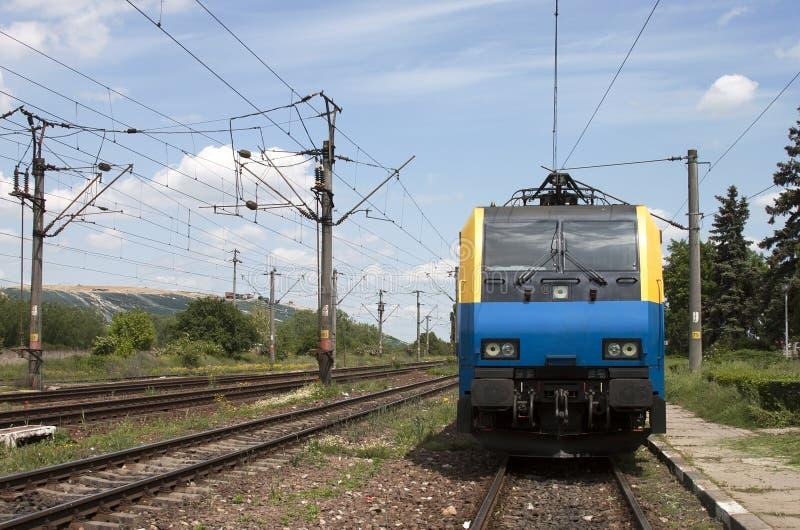 Electric locomotive stock photography