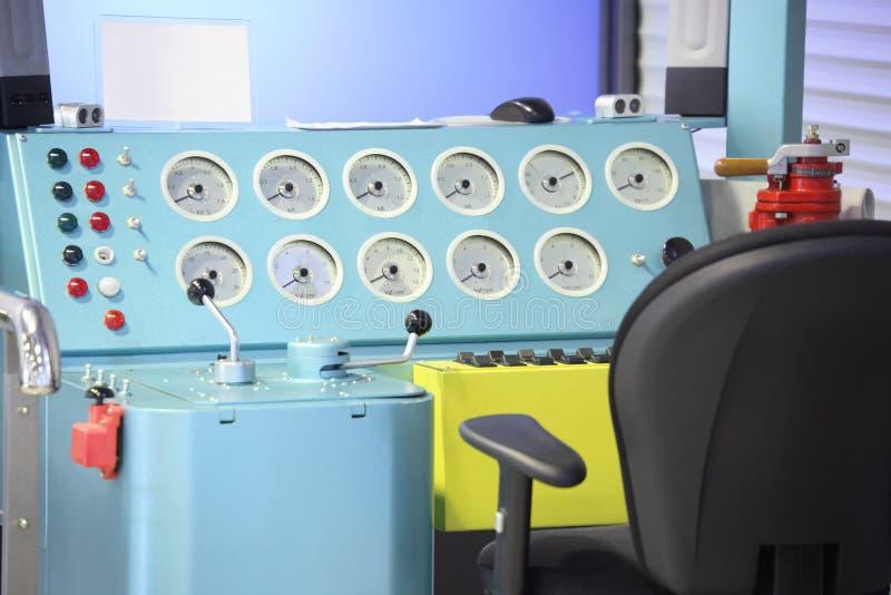 Electric locomotive simulator royalty free stock image
