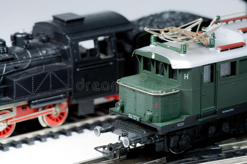 Model trains stock photography
