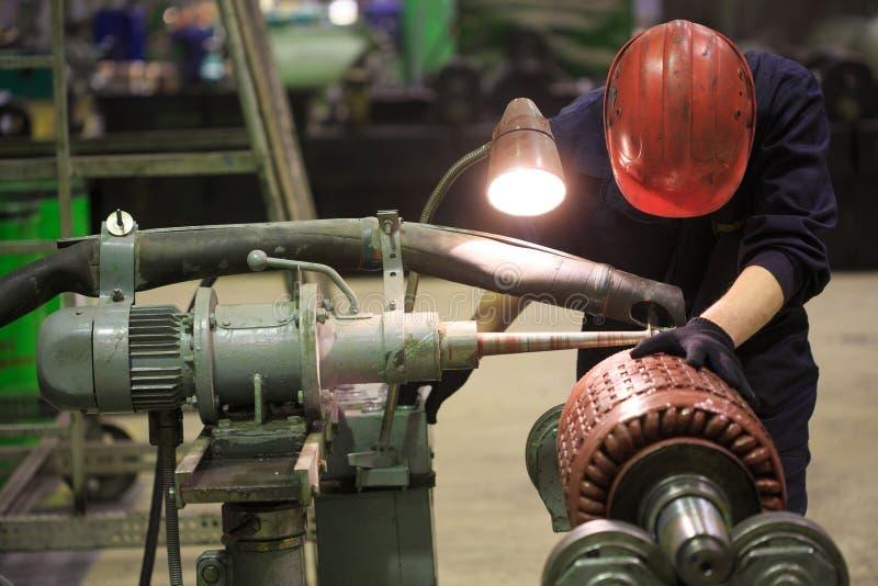 Electric motor rotor of stock. stock photos