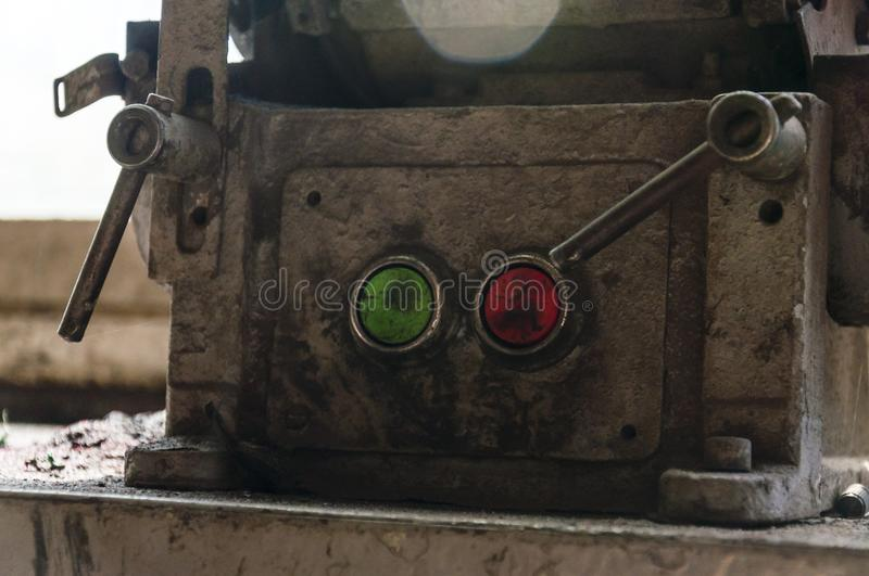 download power buttons of old rusty electric motor stock photo image of agricultural electric first motor t61 first