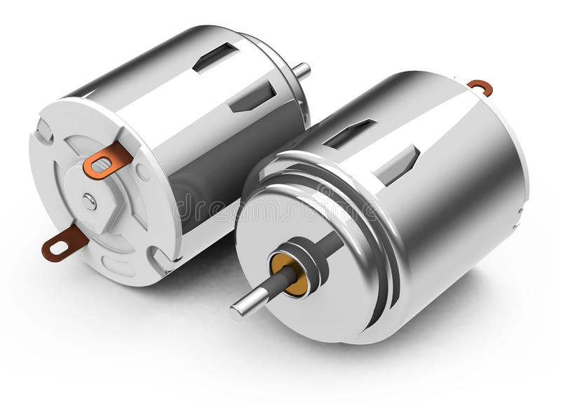 Download The electric motors stock illustration. Image of machine - 39392232