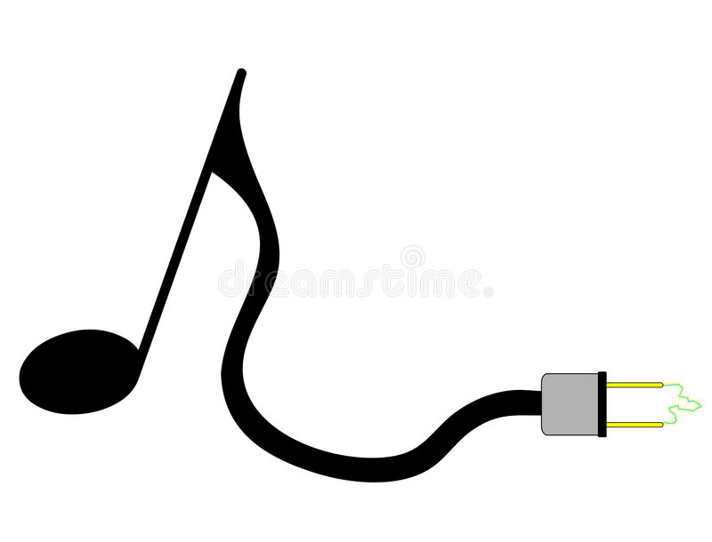 Download Electric Note Royalty Free Stock Photography - Image: 6242427