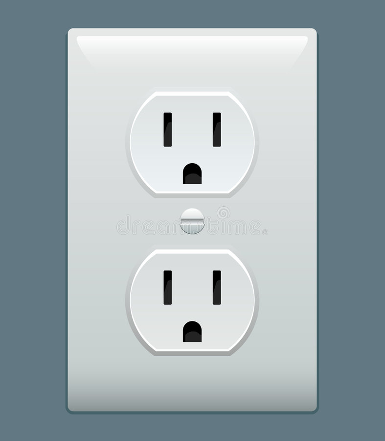 Free Electric Outlet Stock Photography - 5389582