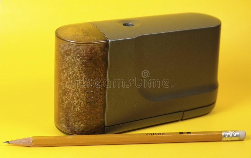Download Electric Pencil Sharpener stock photo. Image of business - 6906