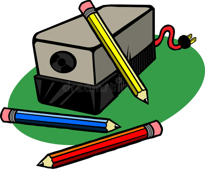 electric pencil sharpener stock illustration illustration of rh dreamstime com pencil sharpener clipart