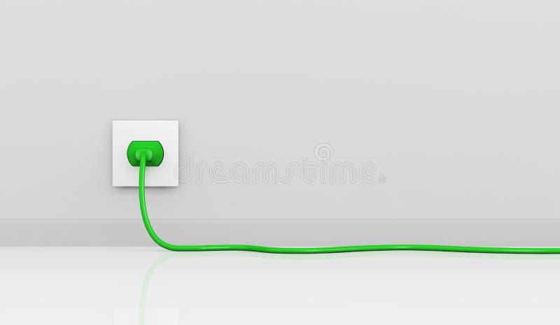 Electric plug stock illustration. Illustration of house - 20266251
