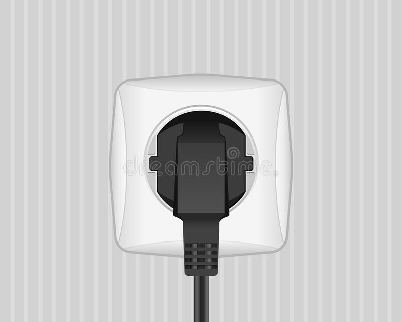 Electric Plug And Outlet Stock Images