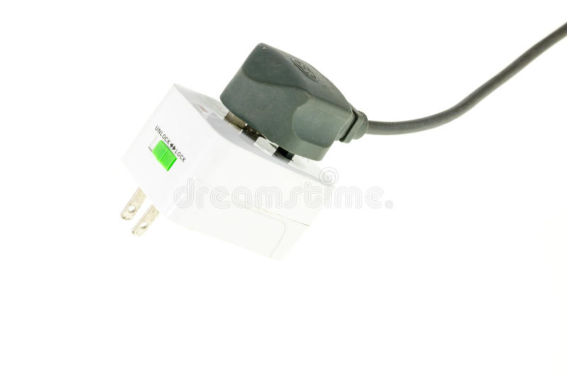 Download Electric plug stock photo. Image of adapter, plug, line - 33738274