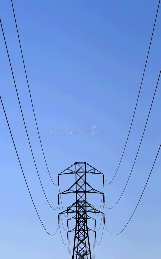 Electric Pole stock photo