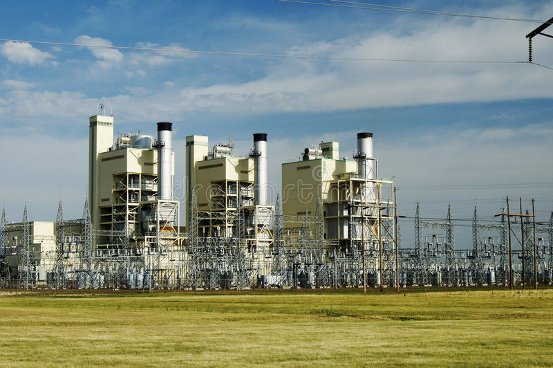 Download Electric Power Plant stock photo. Image of plant, conversion - 805336