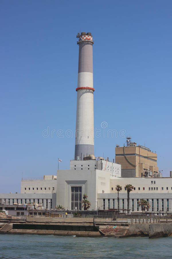 Electric power station stock photos