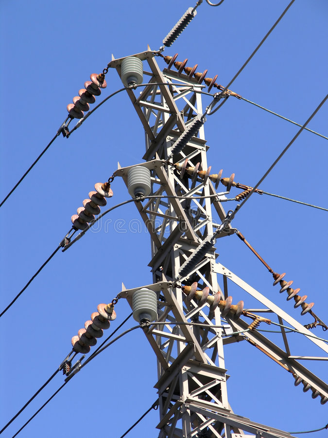 Free Electric Power Switch Tower 1 Stock Photography - 2261232